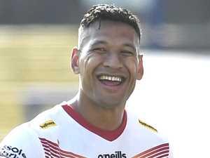 Shock twist in Folau's bid to return to rugby league