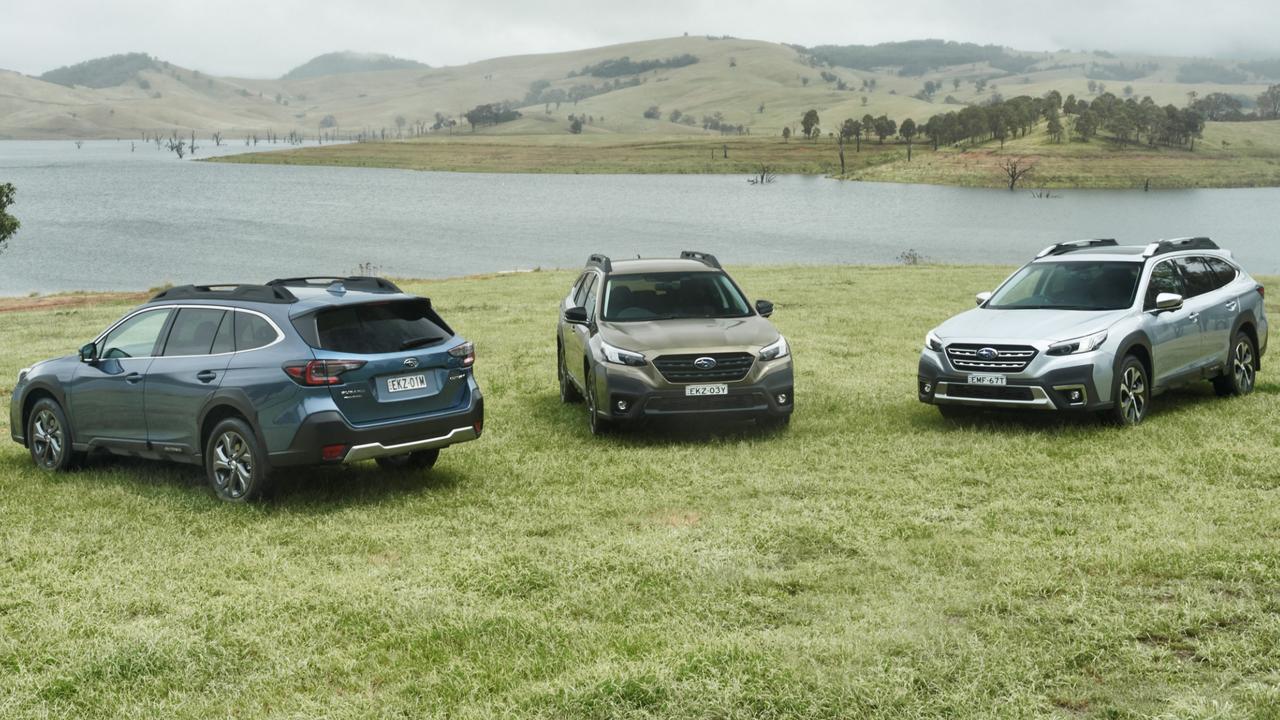 Subaru's sixth generation Outback range.