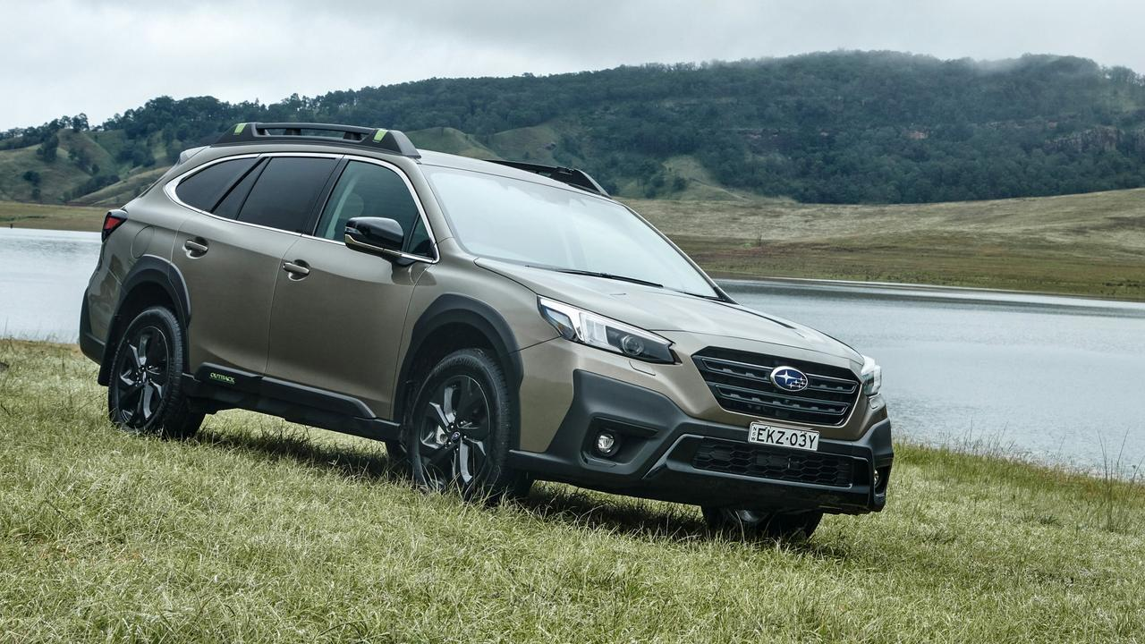 The Subaru Outback comes with a range of safety equipment as part of the EyeSight package.