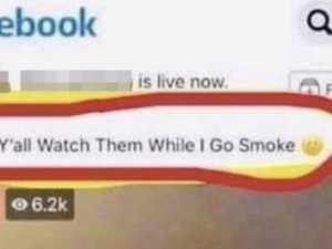 Mum makes brazen Facebook request