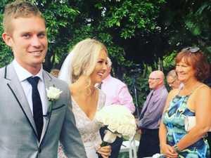 AFL star's brutal review of wedding venue