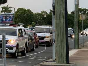 Police swarm to reports of armed man in Mackay CBD