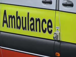 Two in hospital after three-vehicle crash on busy road