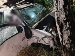 Seriously injured man freed from mangled wreck