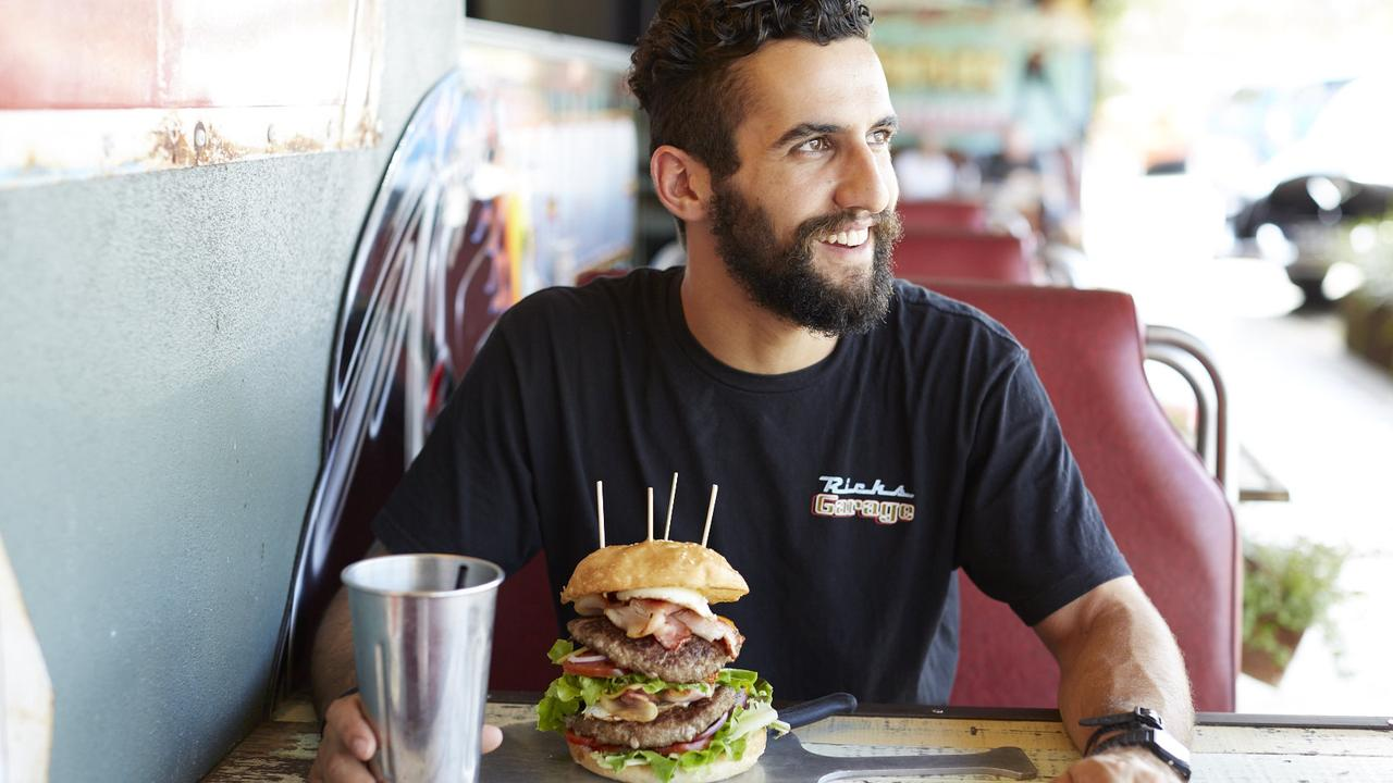 Ben Jamieson of Rick's Garage was thrilled the popular venue had been voted as the best burger spot on the Coast.