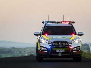 Car rolls down embankment after Bruce Highway collision