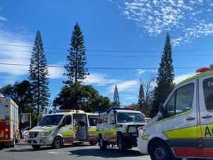 Man cut from vehicle after serious hinterland crash