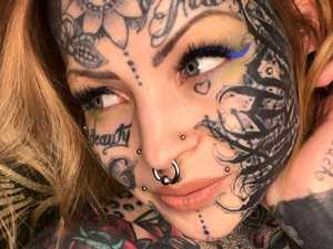 Woman's entire body covered in 'one tattoo'
