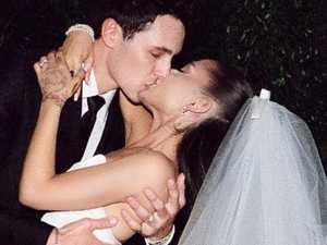 Ariana releases intimate wedding photos