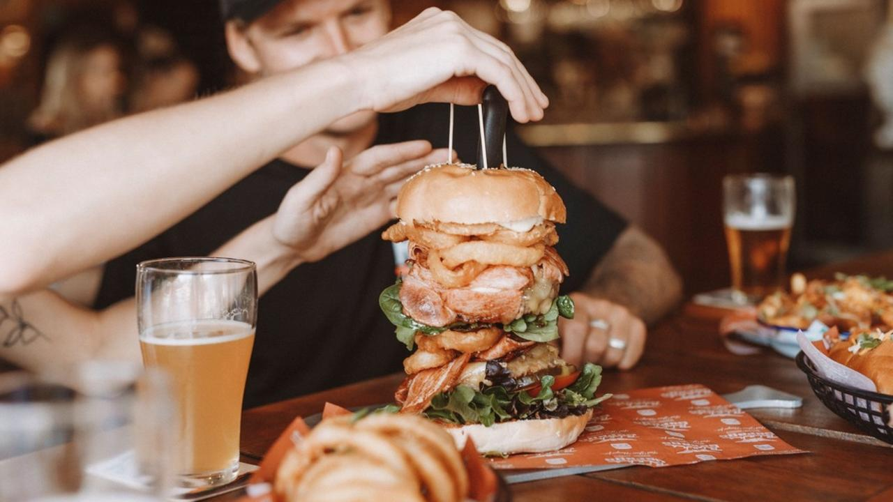 Rick's Garage was voted as the best burger spot on the Sunshine Coast.