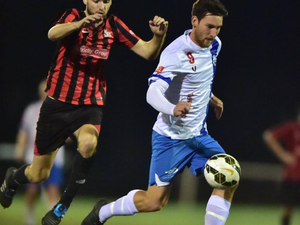 Luke Alderson plays against Caloundra. Picture: File
