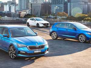 Three of the best hatchbacks compared