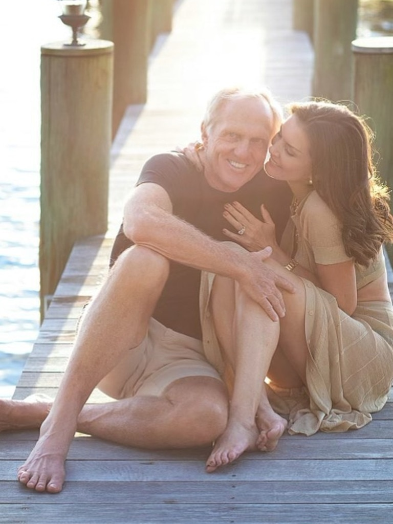 Greg Norman and his wife Kirsten plan to move to Australia.