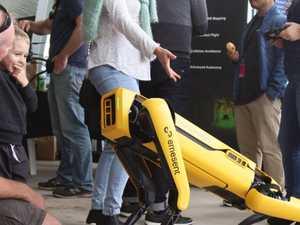 Robots take over Coast stadium