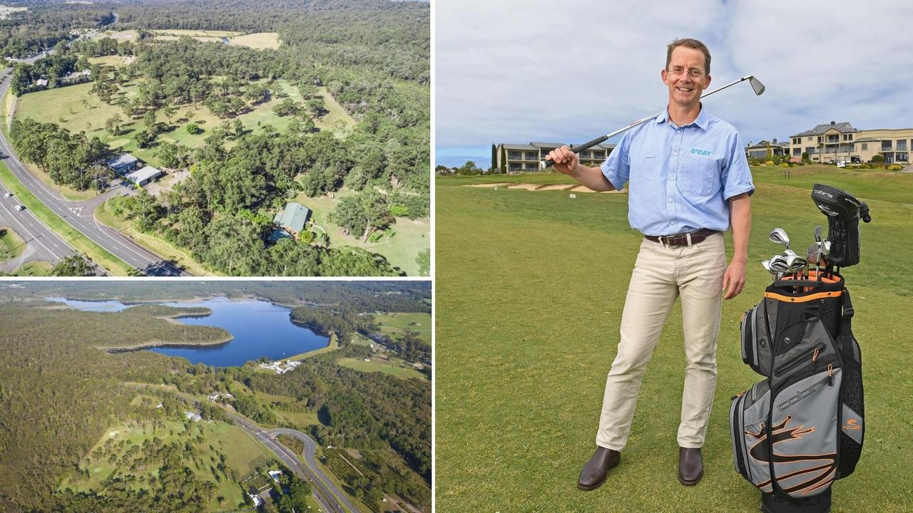 G'day Group chief executive Grant Wilckens and the Steve Irwin Way, Glenview site they acquired for $3.3 million.