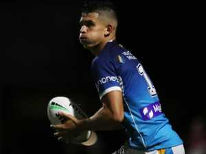 Family affair: Legend's son tipped for Titans debut