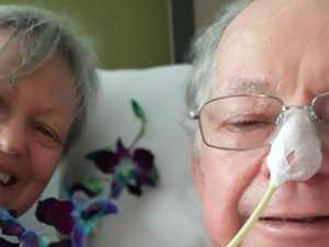 Hospital homestay helps wife calm husband's hallucinations