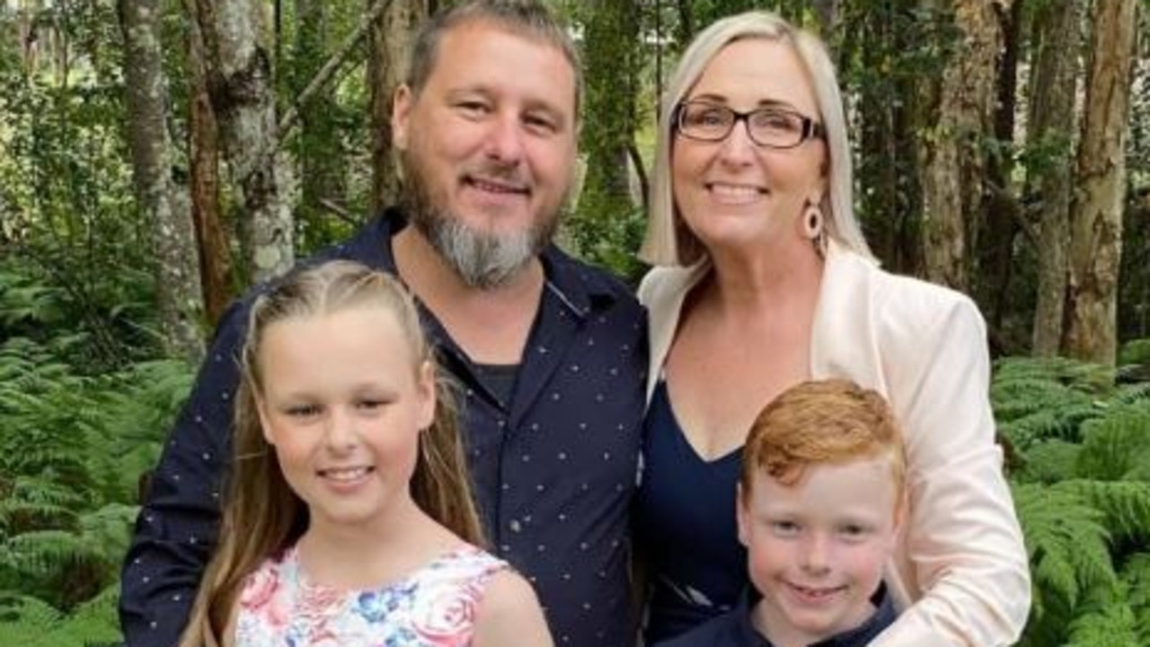 Ten-year-old Chloe Lee remains on life support after her family, including little brother Declan (right) were involved in a horrific car crash in Perth. Chloe will remain on life support until her parents Geoff and Sommar can say goodbye. Picture: Supplied