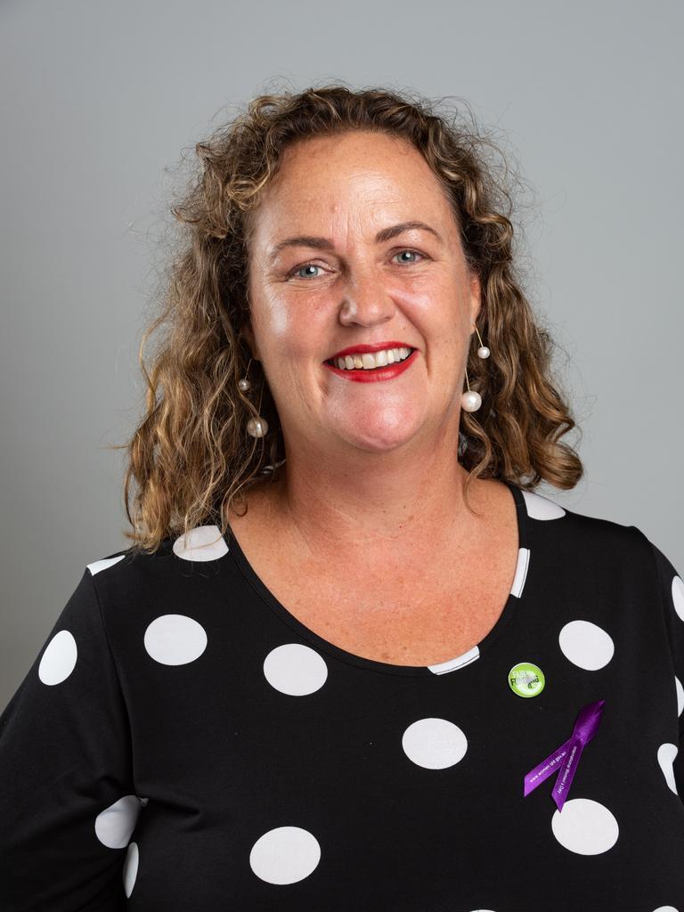 Queensland Teachers' Union president Cresta Richardson.