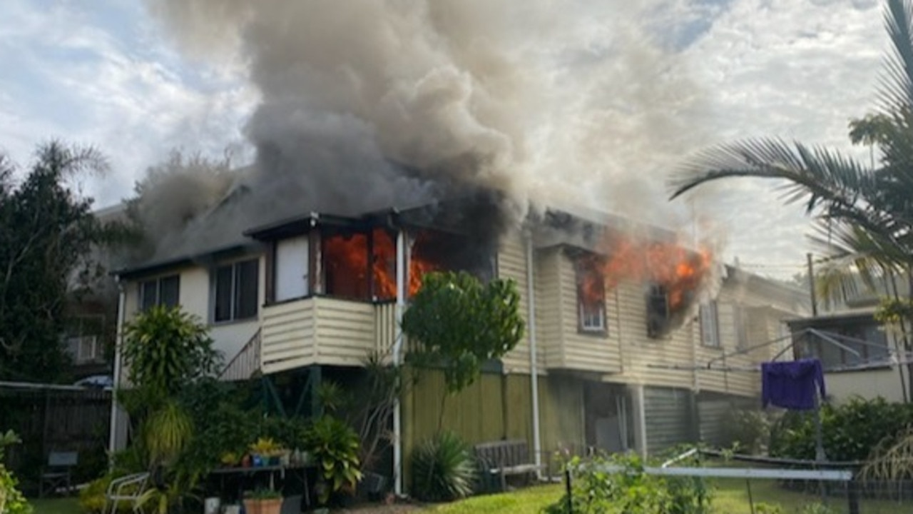 The unit located in the back of the house on Merthyr Rd was gutted. Picture: GoFundMe