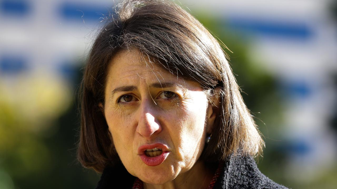 Gladys Berejiklian has offered her view on Victoria's lockdown. Picture: NCA NewsWire / Gaye Gerard