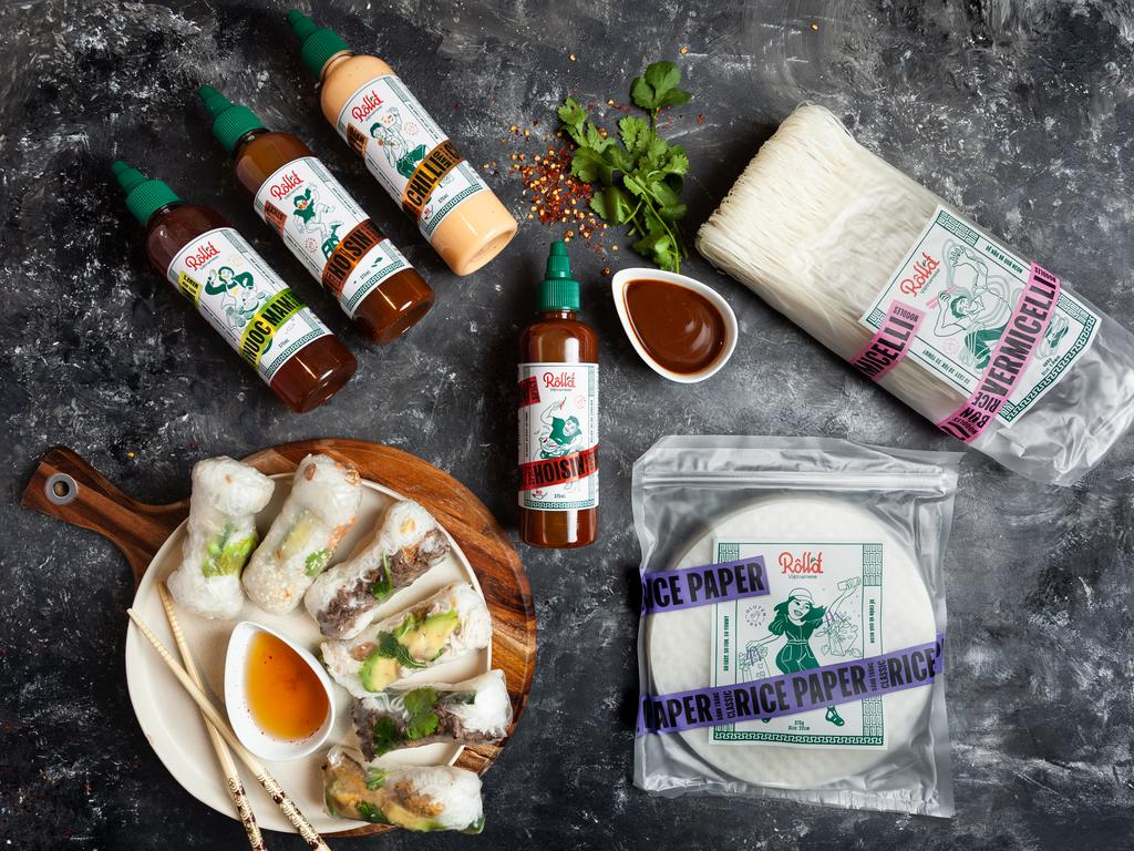 Coles customers can get the Roll'd Rice Vermicelli for $3.50, rice paper for $4 and a variety of sauces for $6.