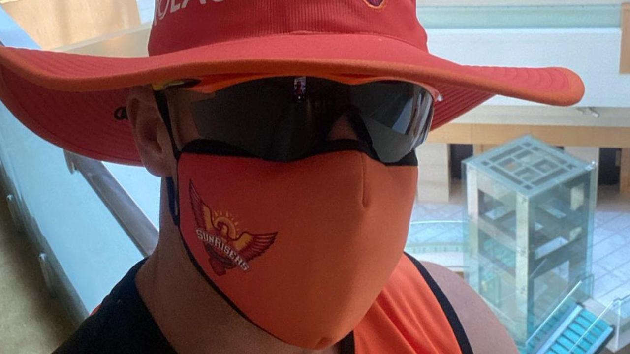 David Warner has given an insight into his experience in India during the IPL. Picture: Instagram
