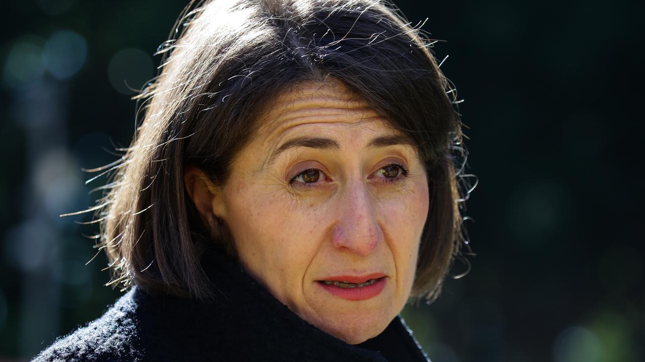 NSW Premier Gladys Berejiklian weighed in on Victoria's lockdown. Picture: NCA NewsWire / Gaye Gerard