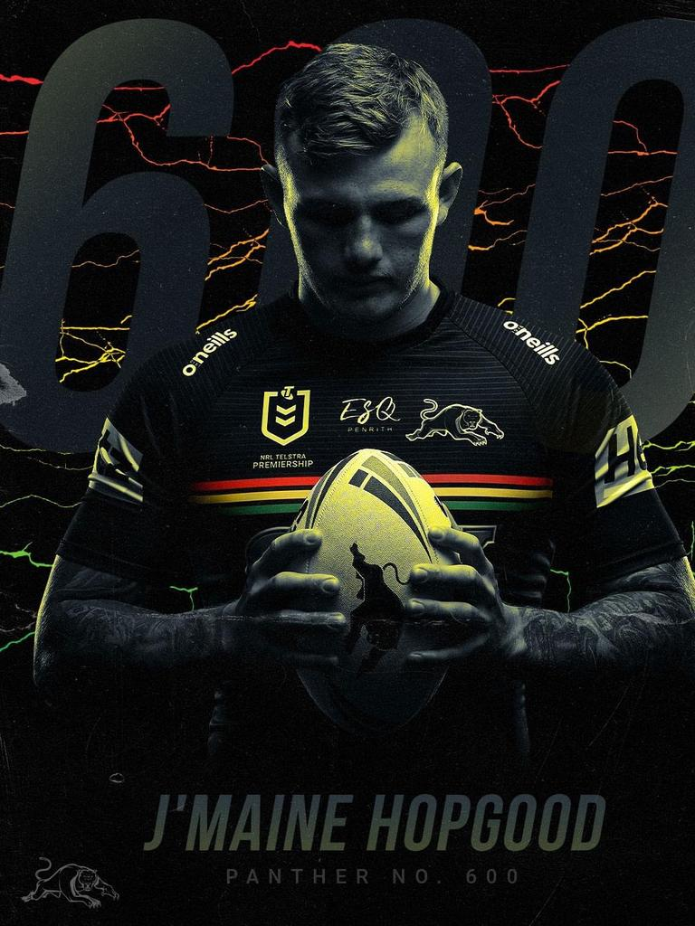 Former Hervey Bay Seagulls football star J'maine Hopgood is set to make his debut for Penrith Panthers.