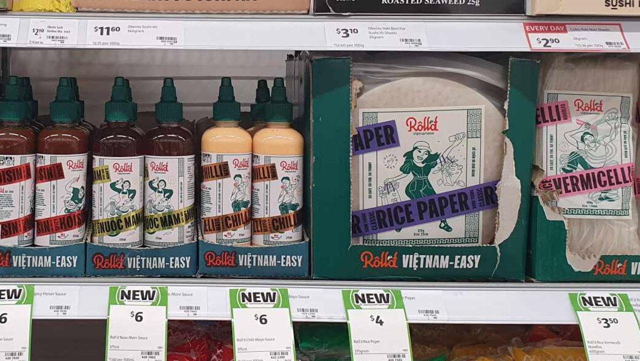 Roll'd is now available to purchase for the first time, exclusively from Coles supermarkets.