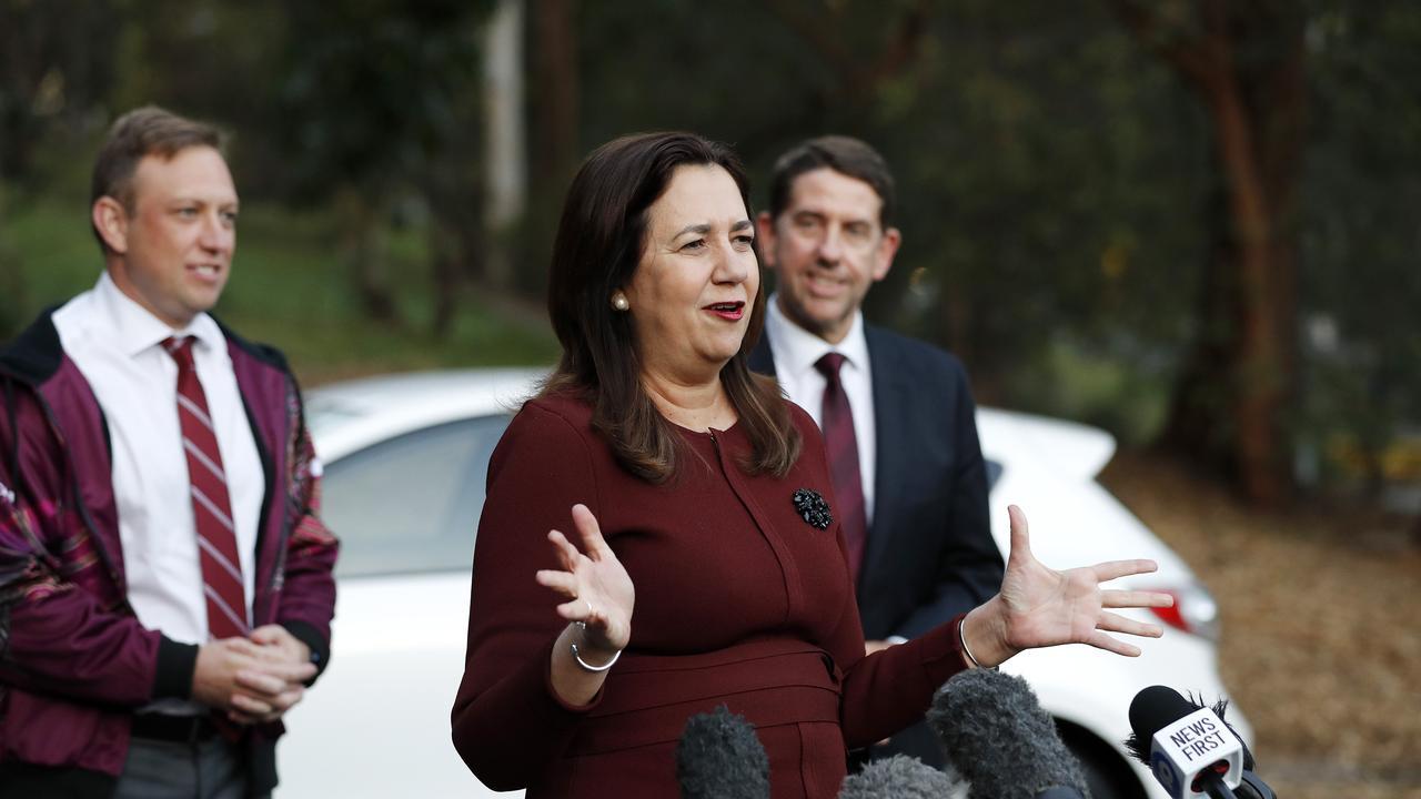 Premier of Queensland Annastacia Palaszczuk. Picture: Josh Woning