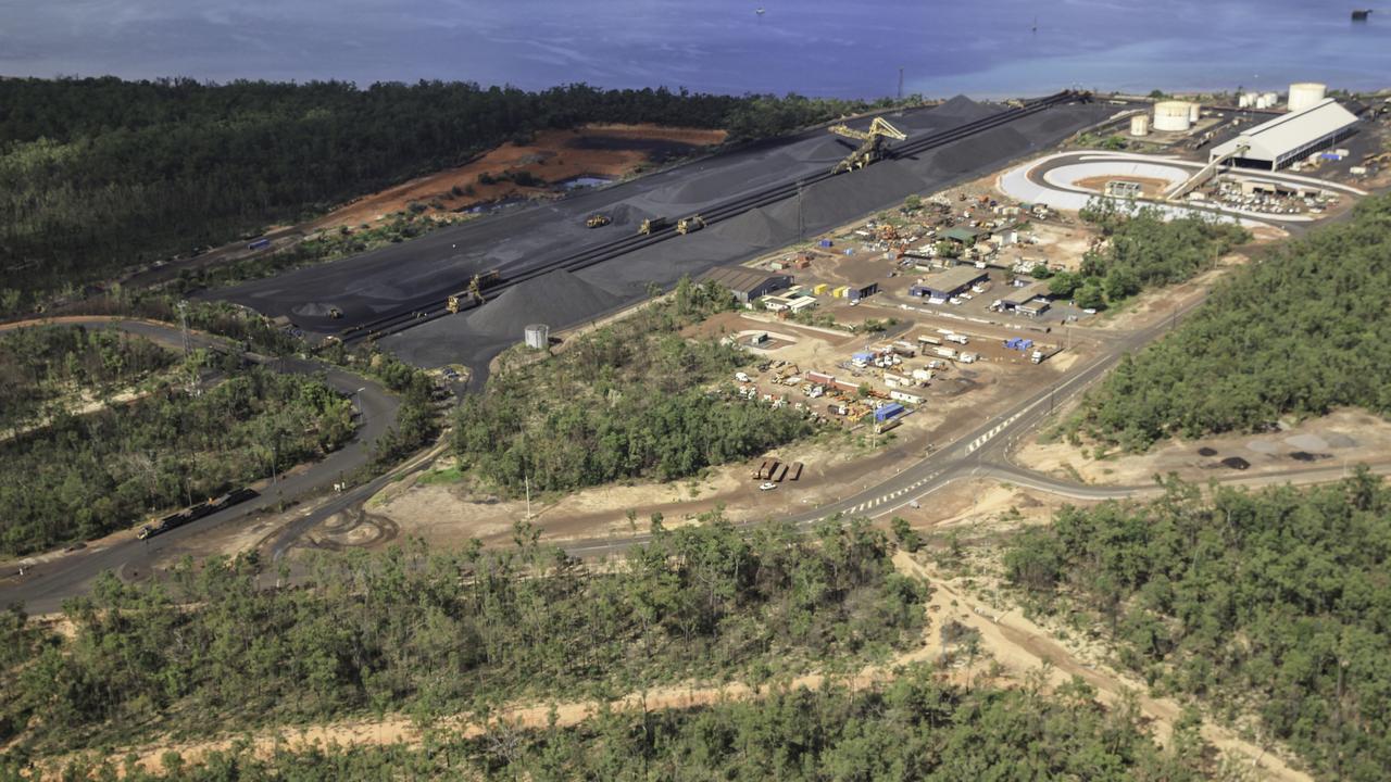Gemco's manganese mine on Groote Eylandt.