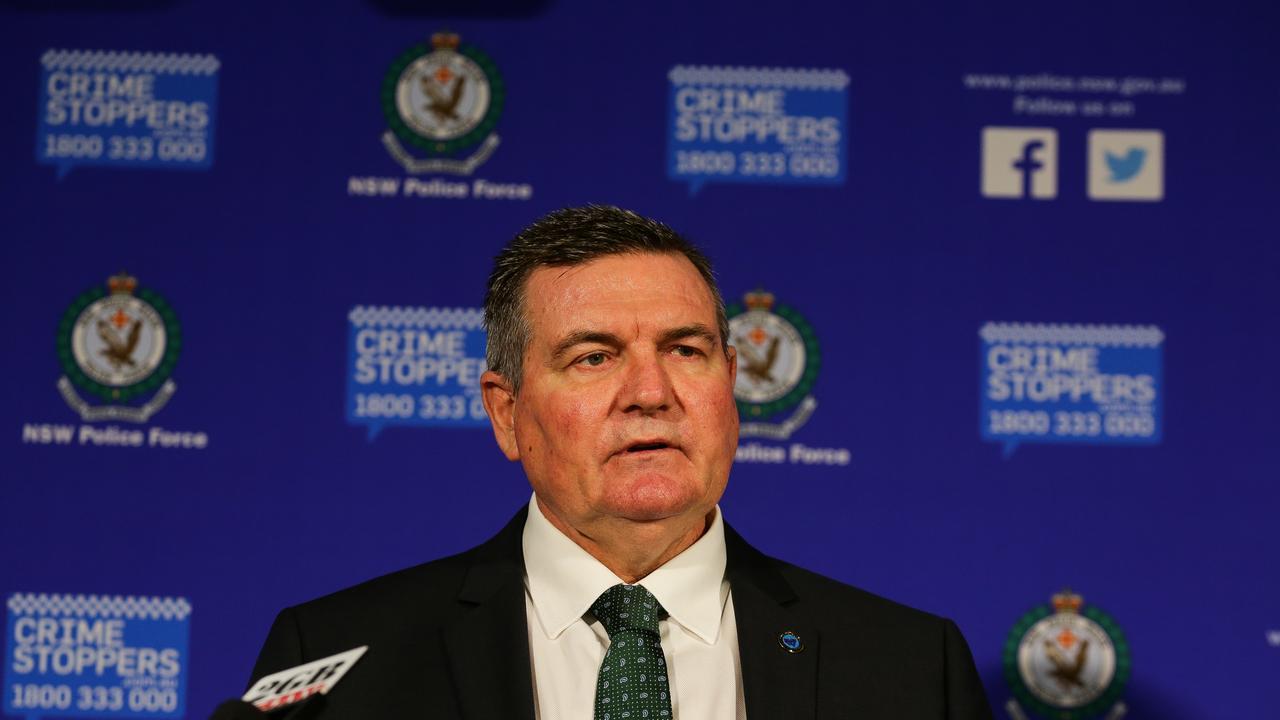 Homicide Squad commander Detective Superintendent Danny Doherty. Picture: Gaye Gerard