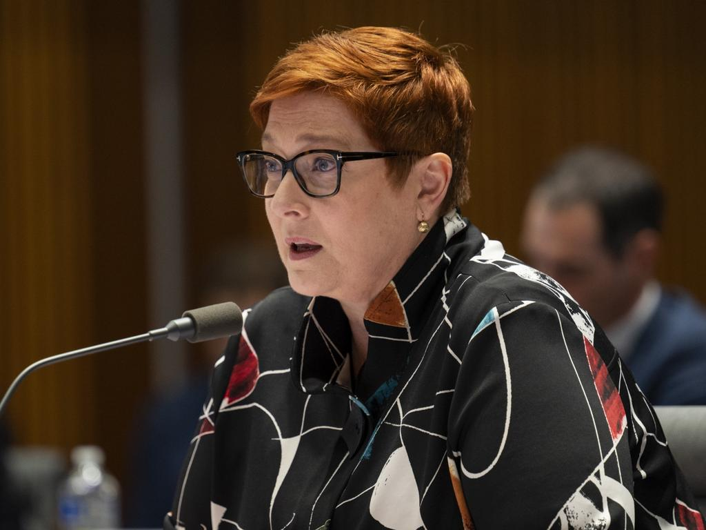 Marise Payne said the government had returned 500,000 Australians since the beginning of the pandemic. Picture: NCA NewsWire / Martin Ollman