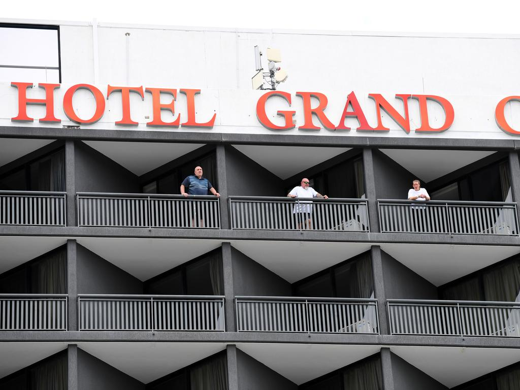 There have been 21 leaks from hotel quarantine in Australia's capital cities in the last 14 months. Picture: NCA NewsWire / Dan Peled