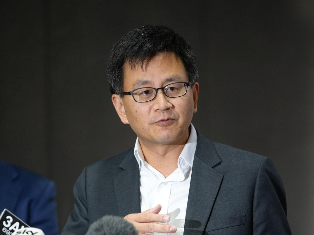 Professor Allen Cheng said two cases recorded on Thursday were primary close contacts already quarantining. Picture: NCA NewsWire/Sarah Matray