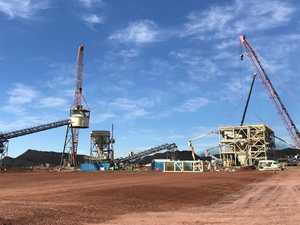 Man suffers facial injuries in CQ mine truck rollover
