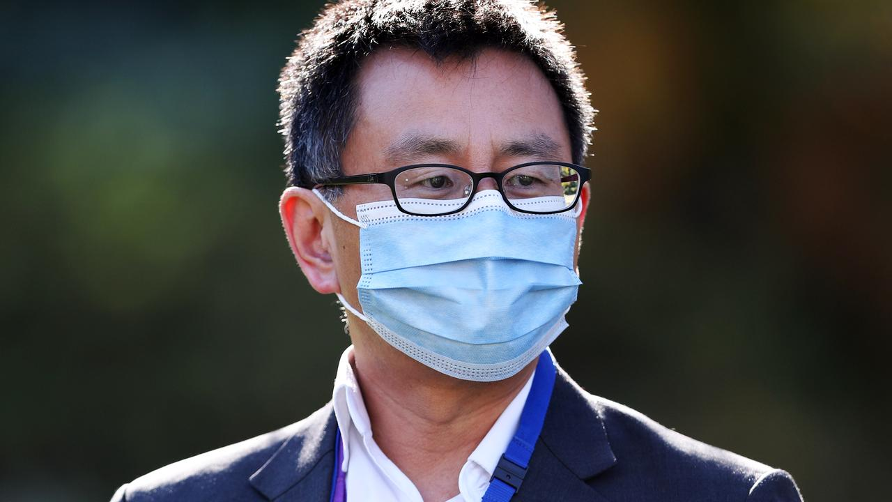 Deputy chief health officer Allen Cheng said potential for Melbourne to reopen would be measured daily. Picture: David Crosling / NCA NewsWire