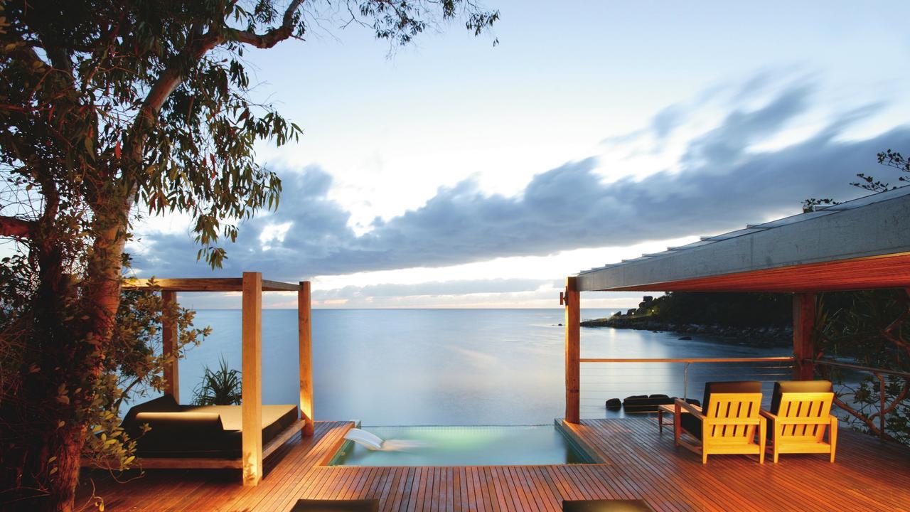 Bedarra Island Luxury resort and spa, Great Barrier Reef, Queensland, Australia.