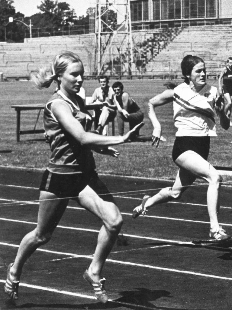 Raelene Boyle competes in 1969.