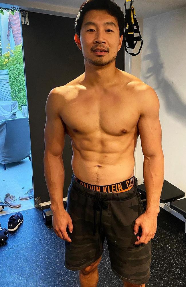 Simu Liu is also a seasoned stuntman.