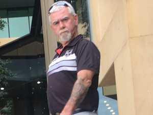Angry former tenant 'spears door' in property dispute