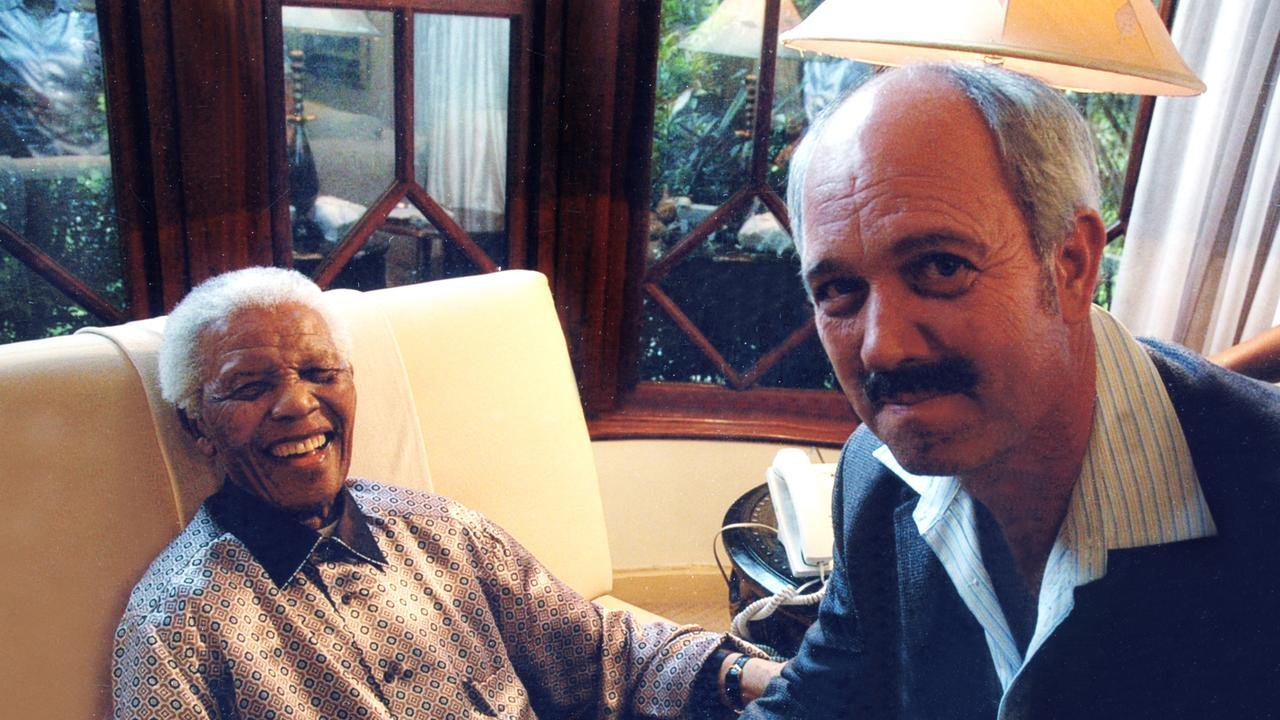 Christo Brand became a confidante of Nelson Mandela in and outside prison. Picture: Supplied.