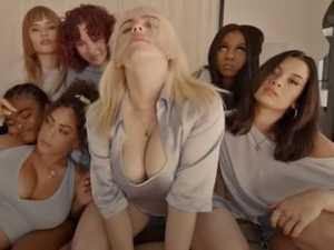 Billie Eilish strips in racy new video