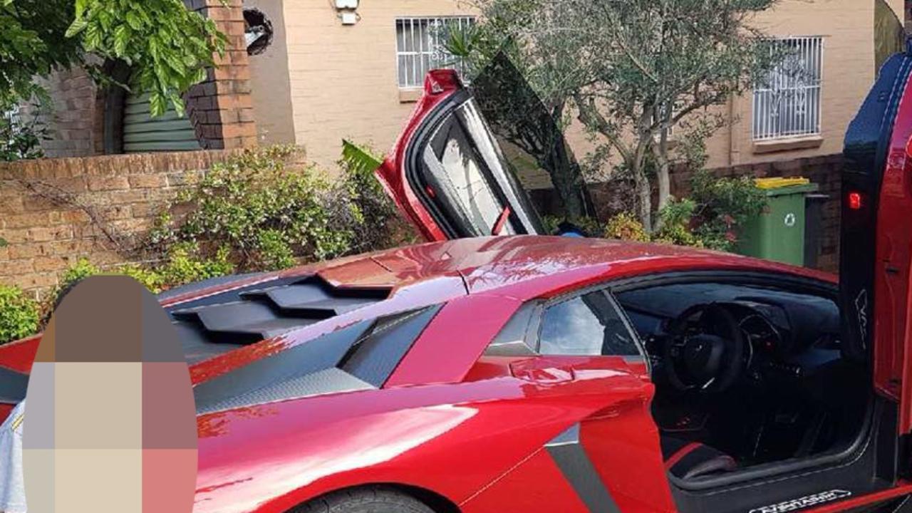 Red Lamborghini Aventador was one of Simon Wakim's ultra luxury vehicles.