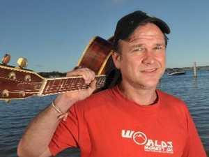 Musical talent busk at the seams at Noosa festival