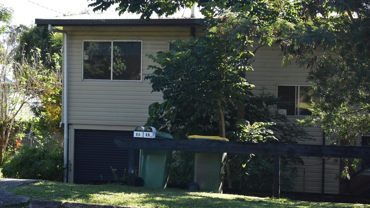 A man was allegedly stabbed in a Booral Street home on Thursday night. Picture: Maddie Manwaring
