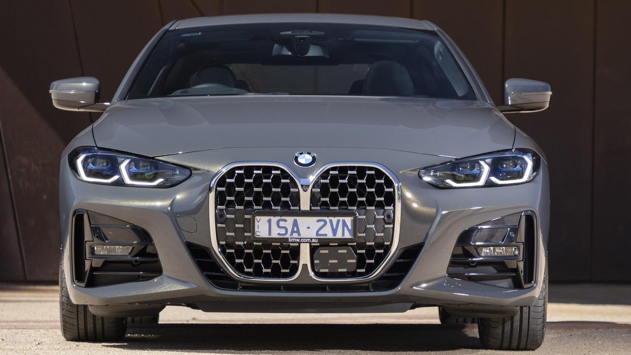 The front end design of the BMW 2021 model 4 Series has been contentious.
