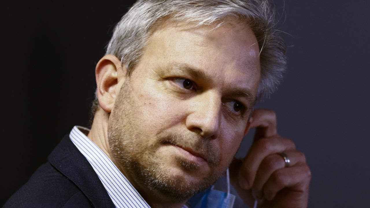 Victoria's chief health officer Brett Sutton says the Delta strain is a concern. Picture: NCA NewsWire/Daniel Pockett