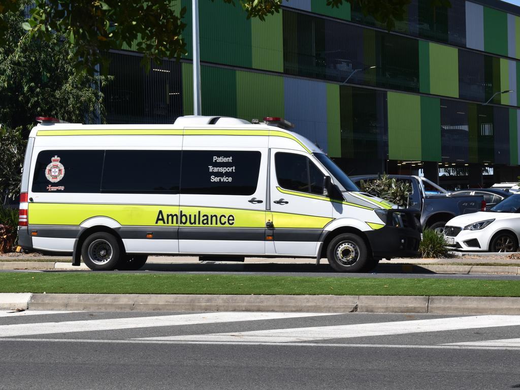 Rockhampton ambulance. QAS generic